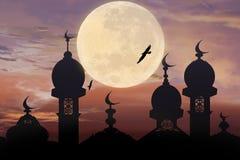 Illustrazione del fondo del kareem del Ramadan Immagini Stock Libere da Diritti