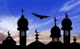 Illustrazione del fondo del kareem del Ramadan Immagine Stock Libera da Diritti