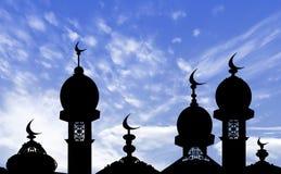 Illustrazione del fondo del kareem del Ramadan Fotografia Stock