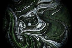 Illustrazione del fondo di pendenza della forma liquida Fotografia Stock Libera da Diritti