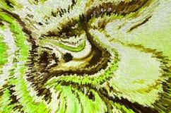 Illustrazione del fondo di pendenza della forma liquida Fotografia Stock