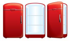 Illustrazione del frigorifero Immagini Stock