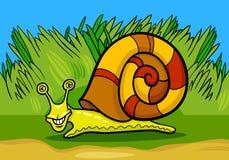 Illustrazione del fumetto del mollusco della lumaca royalty illustrazione gratis