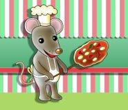 Cuoco del topo illustrazione vettoriale