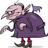 Illustrazione del fumetto del vampiro di Halloween Fotografie Stock