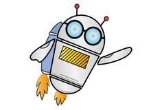 Illustrazione del fumetto di vettore del robot illustrazione vettoriale