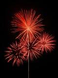 Illustrazione del fuoco d'artificio Fotografie Stock Libere da Diritti