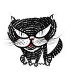 Illustrazione del gatto Fotografia Stock Libera da Diritti