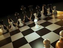 Illustrazione del gioco di scacchi royalty illustrazione gratis