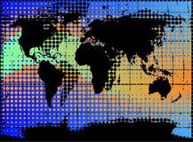 Illustrazione del globo Fotografie Stock Libere da Diritti