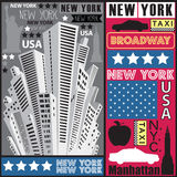 Illustrazione del grattacielo di New York Royalty Illustrazione gratis