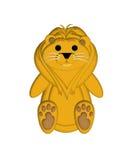 Illustrazione del leone illustrazione vettoriale
