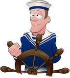 Illustrazione del marinaio Fotografia Stock Libera da Diritti
