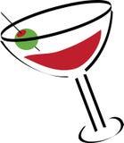 Illustrazione del Martini Fotografia Stock Libera da Diritti