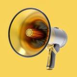 illustrazione del megafono isolata 3D Immagini Stock Libere da Diritti