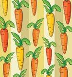 Illustrazione del modello della carota Fotografie Stock