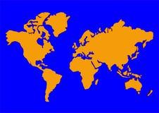 Illustrazione del mondo Immagini Stock
