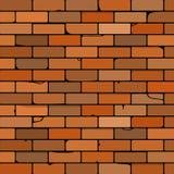 Illustrazione del muro di mattoni Illustrazione di Stock
