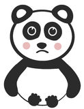 Illustrazione del panda Fotografia Stock