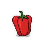 Illustrazione del peperone dolce Fotografie Stock