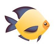 Illustrazione del pesce di mare Immagini Stock