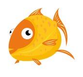 Illustrazione del pesce di mare Fotografie Stock Libere da Diritti