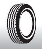 Illustrazione del pneumatico Immagine Stock Libera da Diritti