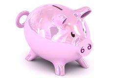 Illustrazione del porcellino salvadanaio Fotografie Stock Libere da Diritti