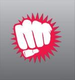 Illustrazione del pugno Fotografia Stock Libera da Diritti