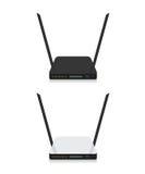 Illustrazione del router di Wifi Fotografia Stock
