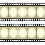 Illustrazione del rullo di pellicola Immagine Stock