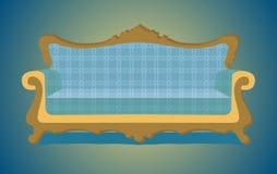 Illustrazione del sofà Immagine Stock