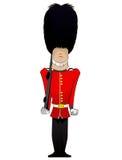 Illustrazione del soldato della regina Immagini Stock Libere da Diritti