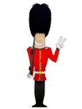 Illustrazione del soldato della regina Immagini Stock