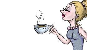 Illustrazione del tè della bevanda Fotografia Stock