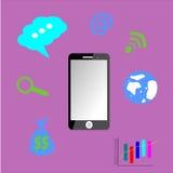 Illustrazione del telefono Immagine Stock Libera da Diritti