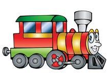 Illustrazione del treno Fotografie Stock Libere da Diritti