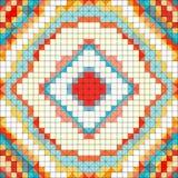 Illustrazione delicata di vettore del fondo di colore del pixel Fotografie Stock
