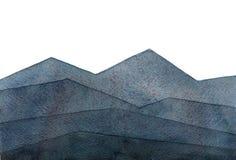 Illustrazione dell'acquerello isolata su fondo bianco Fotografia Stock