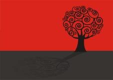 Illustrazione dell'albero illustrazione di stock