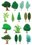 Illustrazione dell'albero dentro   Immagini Stock Libere da Diritti