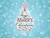 Illustrazione dell'albero di Natale illustrazione vettoriale