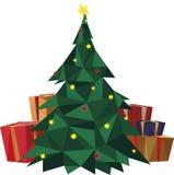 Illustrazione dell'albero di Natale immagini stock libere da diritti