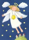 Illustrazione dell'angelo Fotografie Stock Libere da Diritti