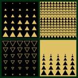 Illustrazione dell'art deco geometrica Fotografie Stock
