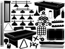 Illustrazione dell'attrezzatura dello stagno Fotografia Stock