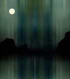 Illustrazione dell'aurora borealis Immagine Stock Libera da Diritti