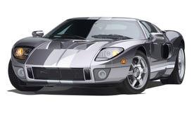 Illustrazione dell'automobile sportiva Fotografia Stock