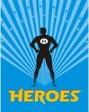 Illustrazione dell'eroe Fotografie Stock Libere da Diritti