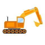 Illustrazione dell'escavatore Fotografia Stock